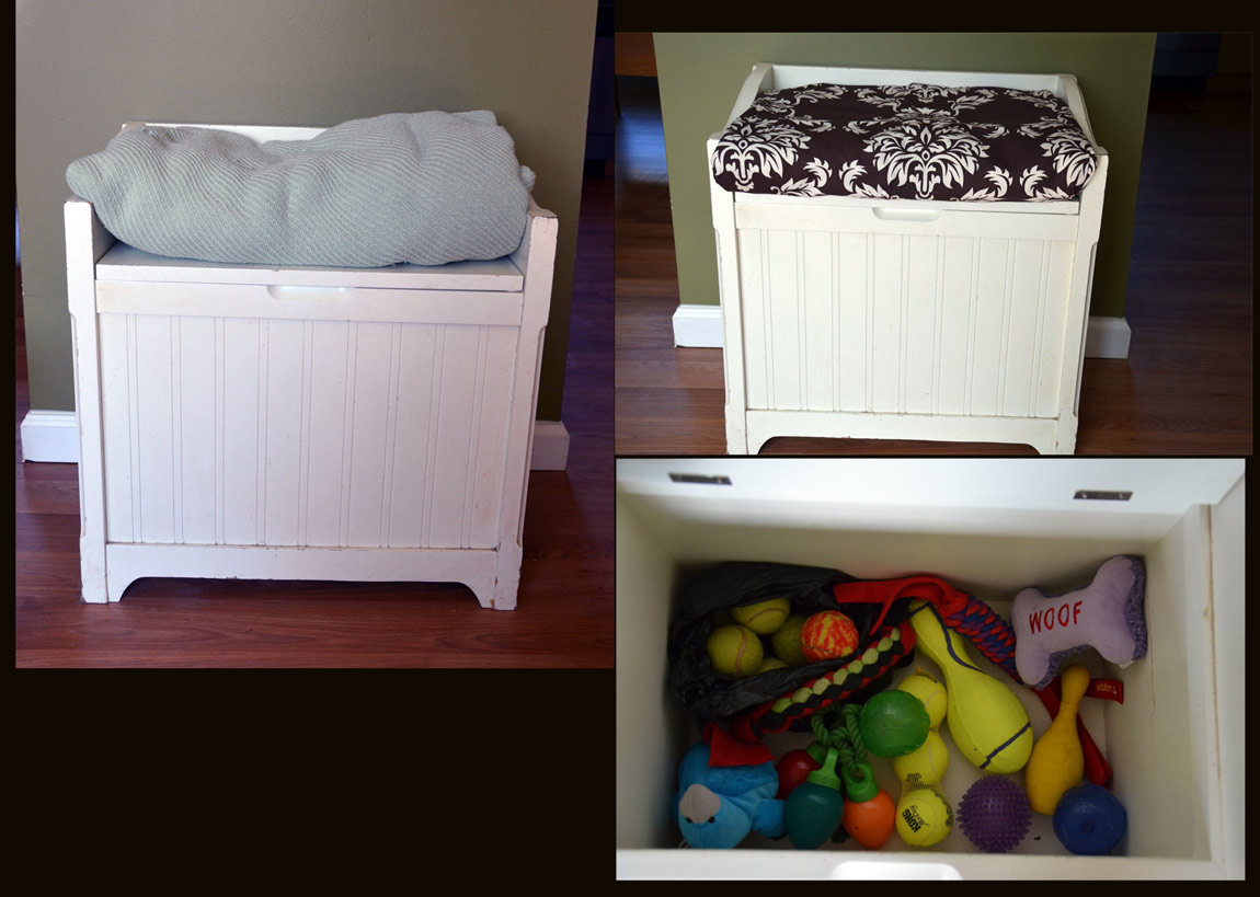 Do You Have Any Creative Or Interesting Ways To Store Dog Toys?